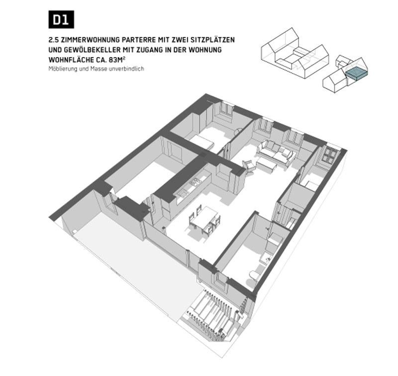 Wohnung 1 Haus D