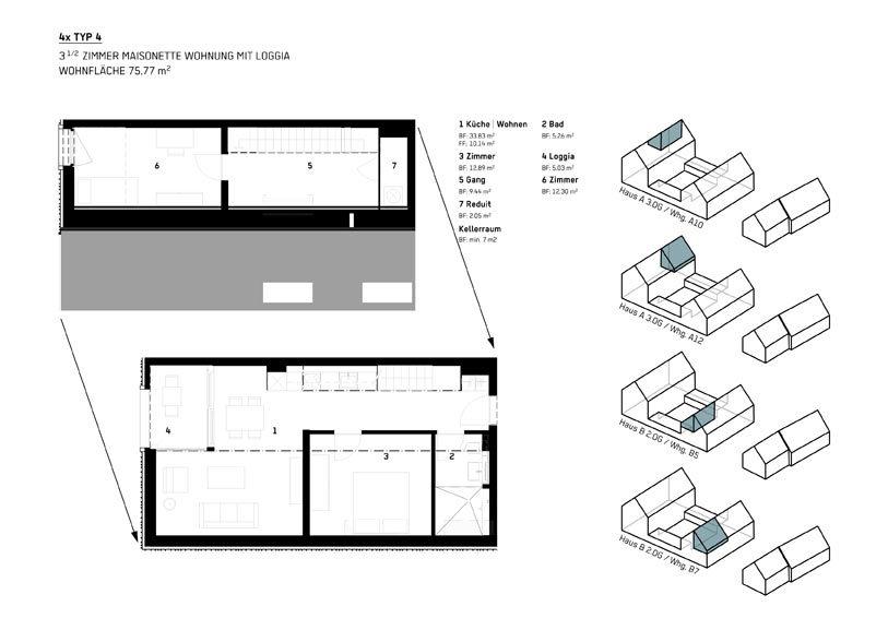 Wohnung Typ 4 - WBG Wittnau