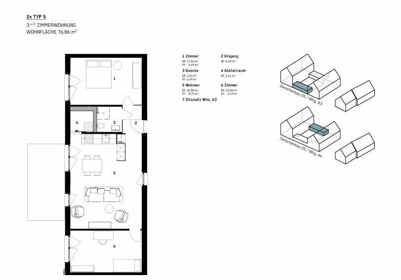 Wohnung Typ 5 - WBG Wittnau